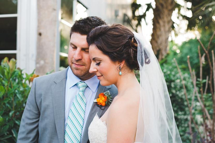 colorful Houston wedding