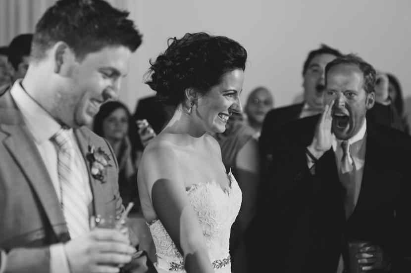 genuine wedding moments