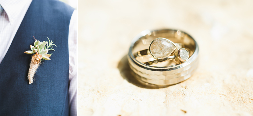 Alexis Russell wedding bands
