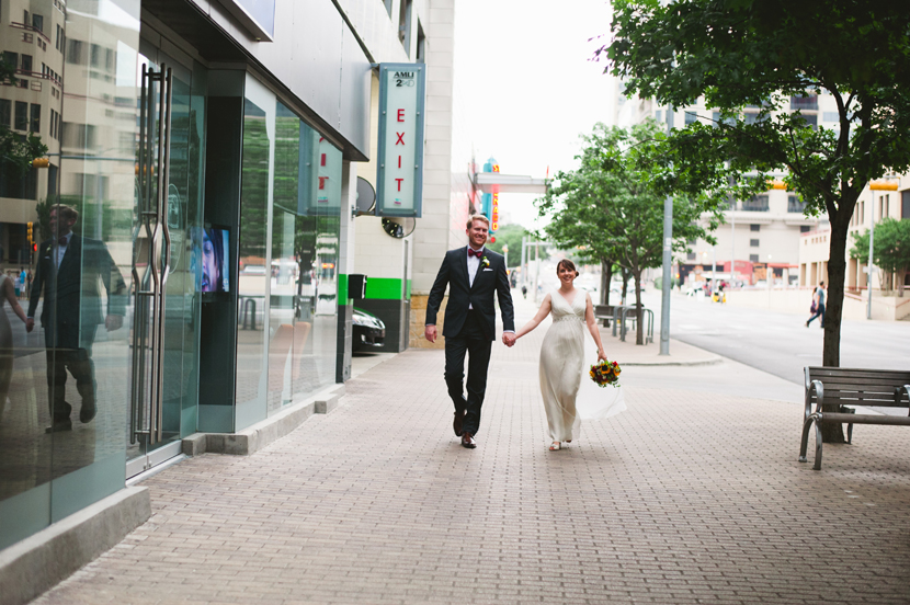 downtown austin wedding portraits