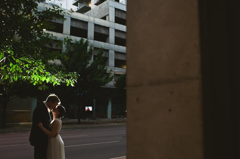 artistic downtown austin wedding photographer