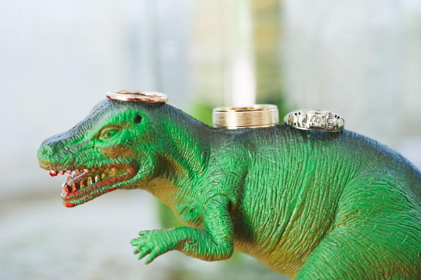 Texas couples who love dinosaurs