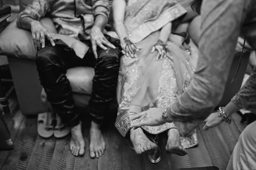 gaye holud Indian ceremony