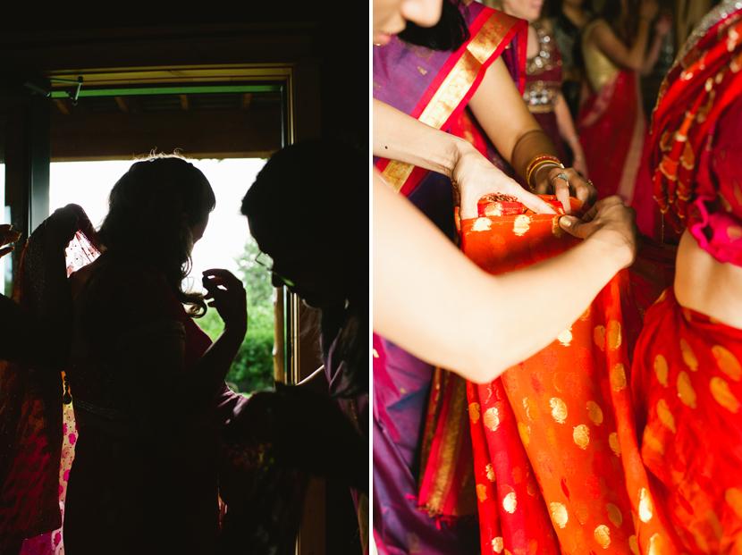 modern traditional Indian wedding