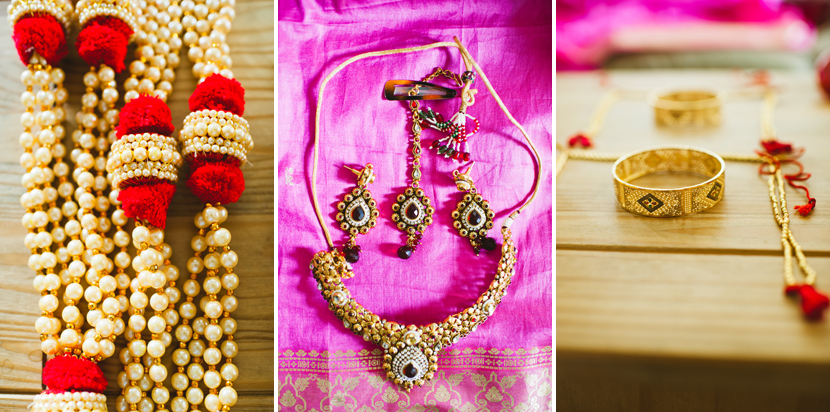 Bengali wedding ceremony ornaments