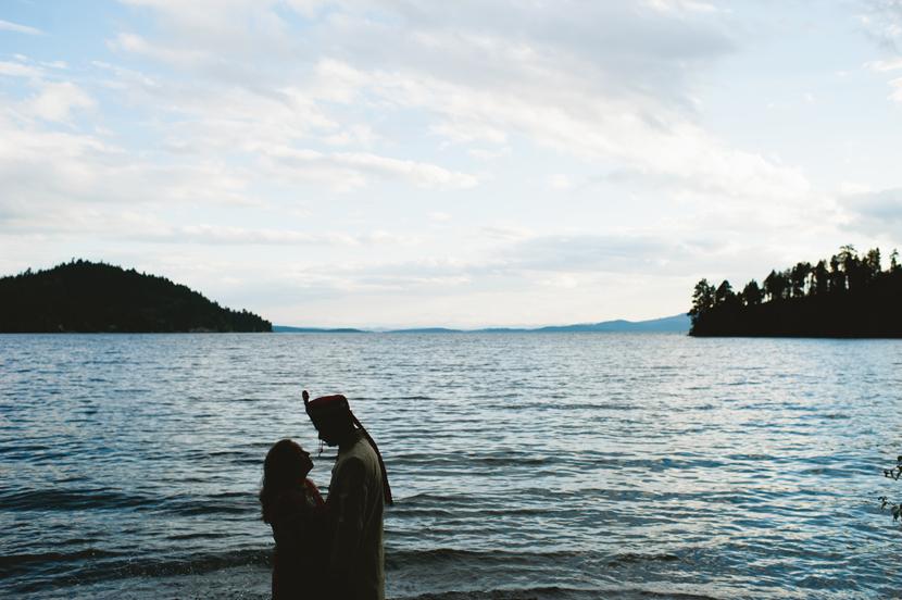 flathead lake wedding pictures