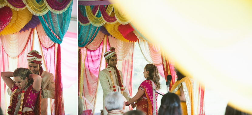 tented Indian wedding