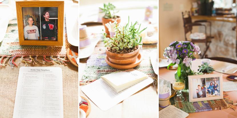 succulents wedding decor
