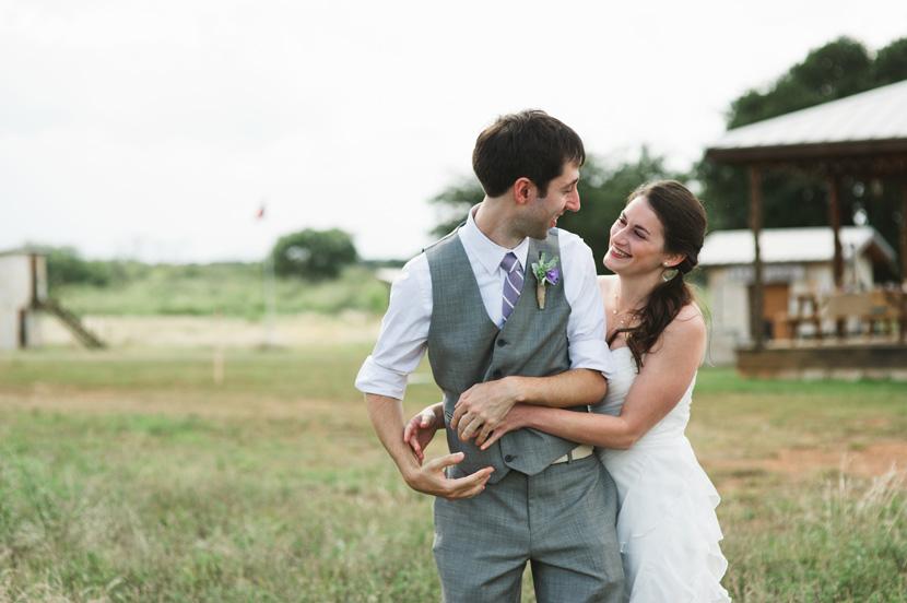 relaxed casual texas wedding