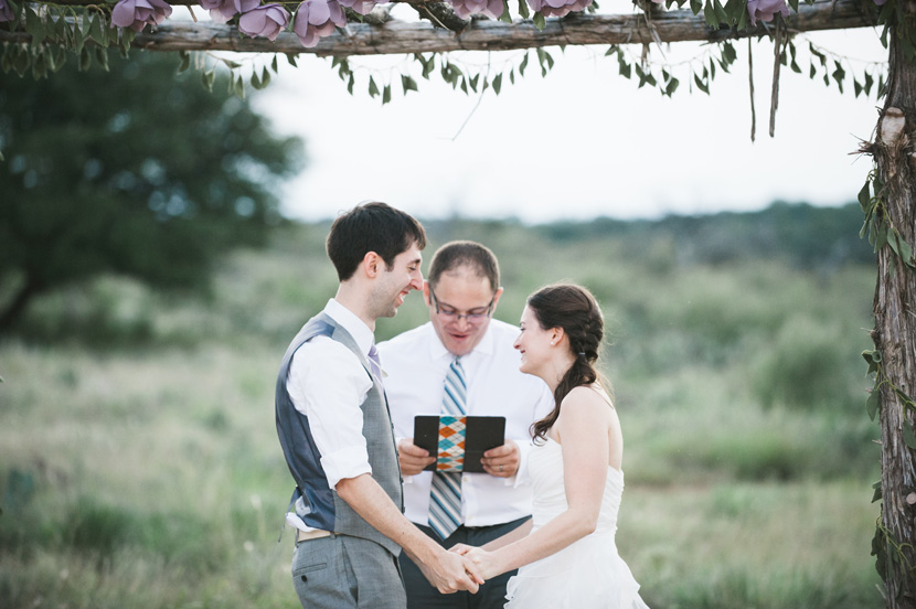 fabric wedding florals