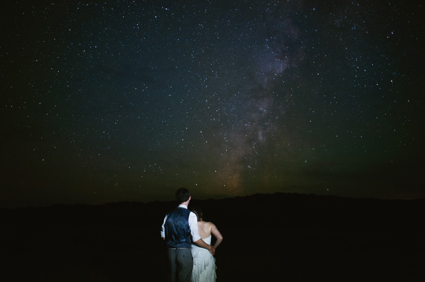 wedding astrophotography
