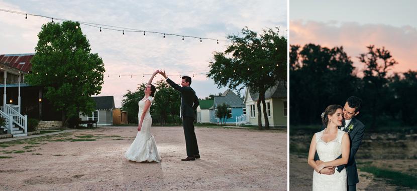 wedding sunset photos