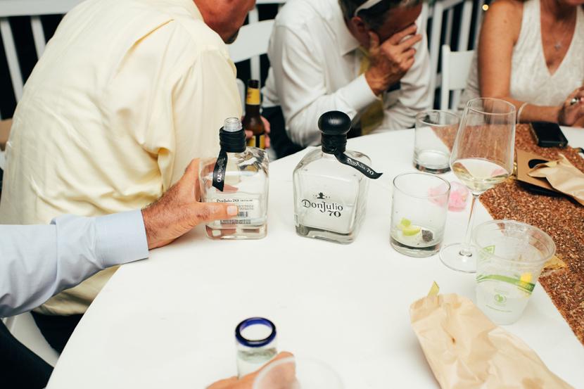 ranch wedding reception