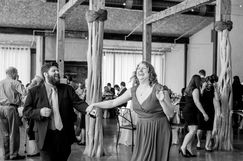 daylight hours wedding reception