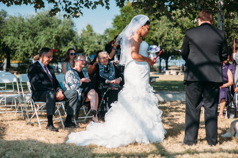 mueller park wedding
