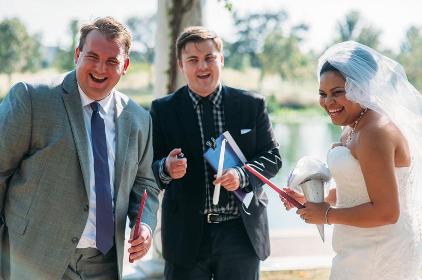 free park wedding