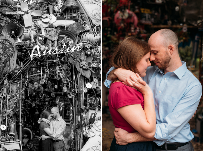 cathedral of junk photo session austin