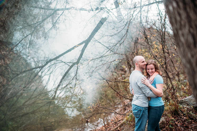 cloudy engagement session ideas