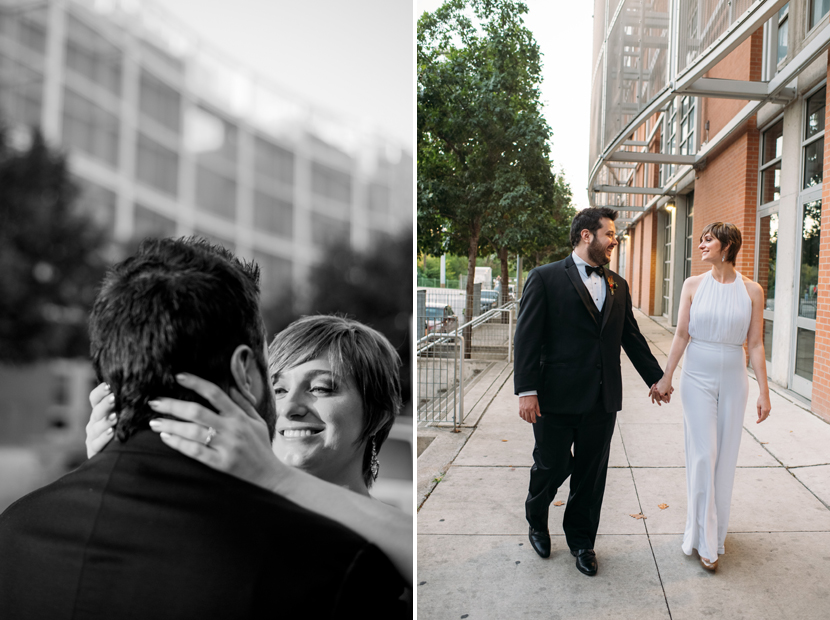 downtown austin bride groom pictures