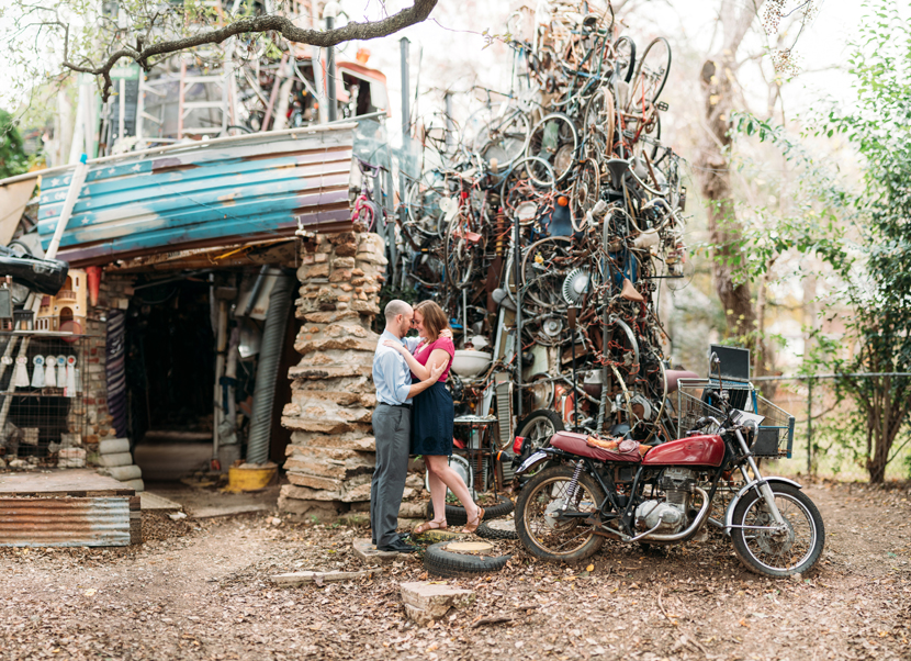 cathedral of junk engagement pictures