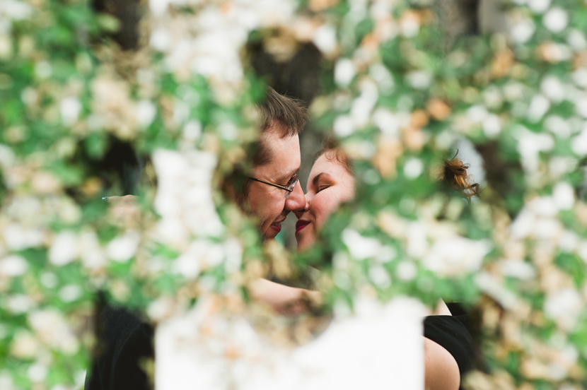 creative austin engagement photos