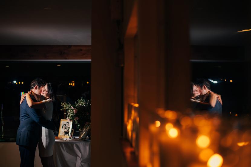 dark night wedding