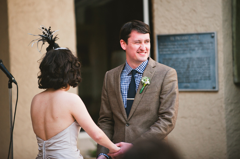 groom with a sense of humor