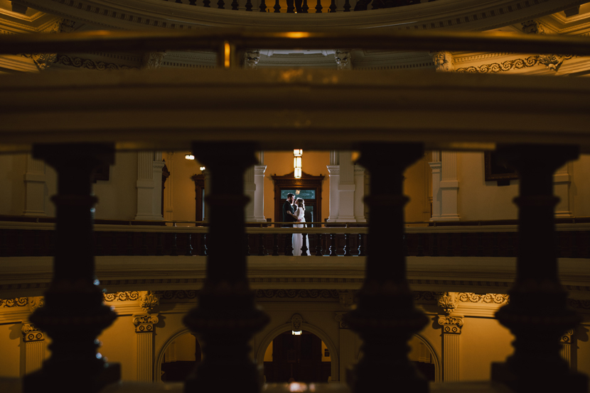 guerilla wedding at the texas state capitol building