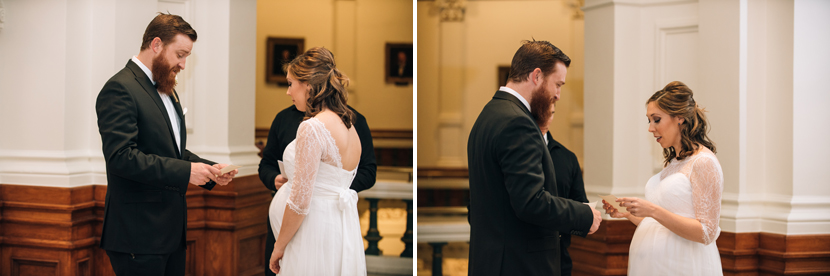 wedding at the tx state capitol