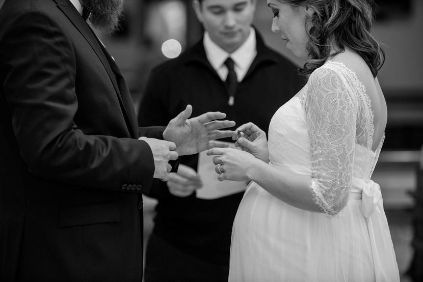 pregnant bride wedding austin