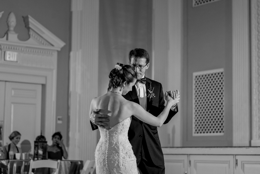 touching father daughter dance moment