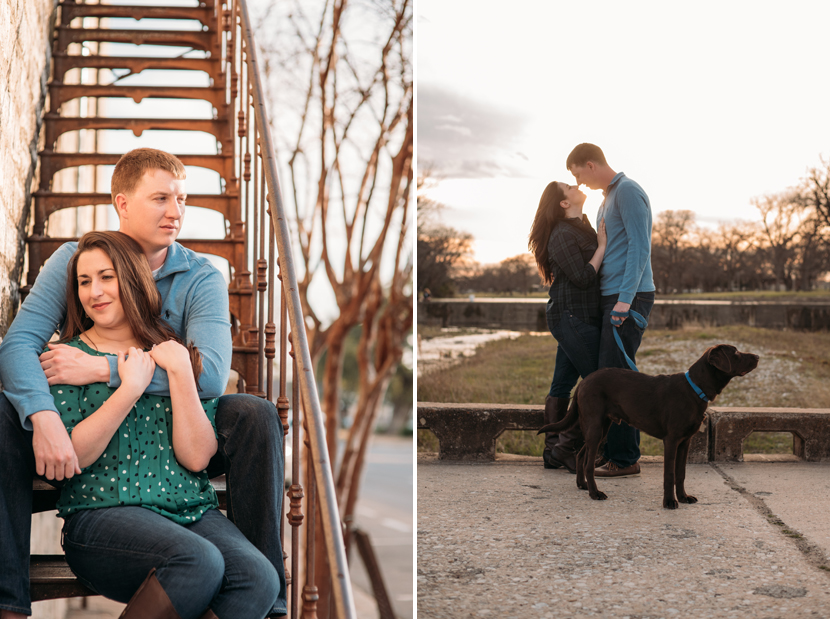 georgetown tx engagement pics