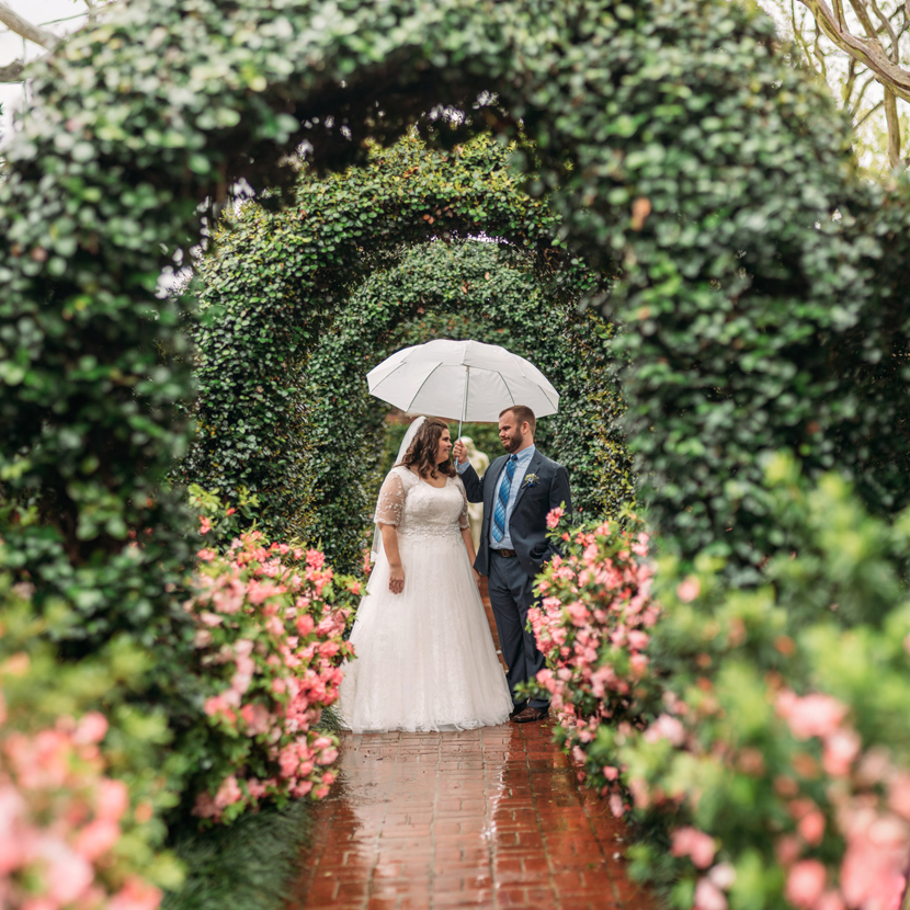 river oaks garden club wedding