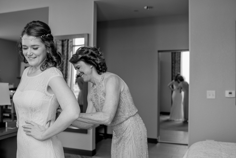 hampton inn university bridal
