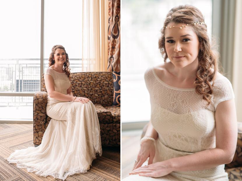 bohemian chic bride