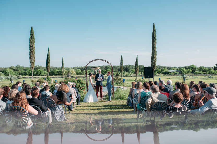 buda outdoor wedding