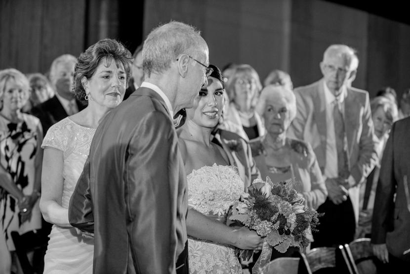 flash used during wedding ceremony