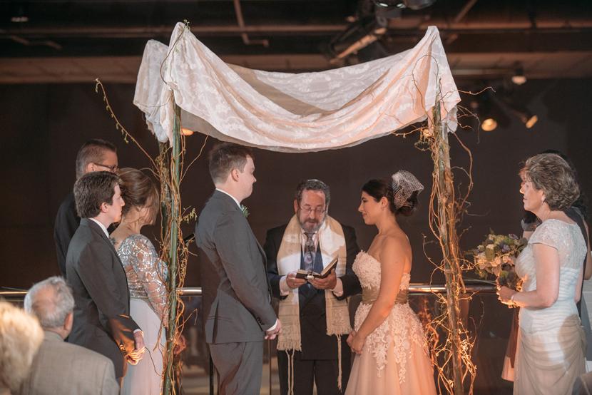 jewish wedding at natural science museum
