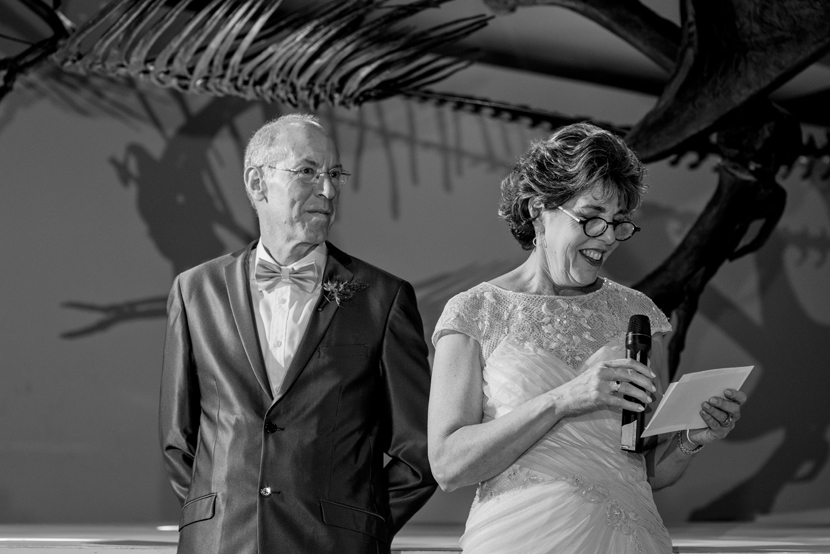 incorporating paleontology into your wedding