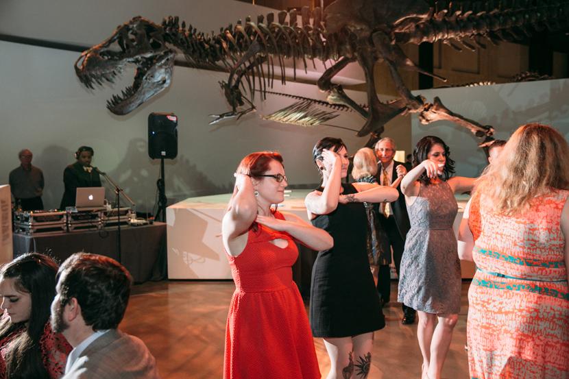 science museum reception