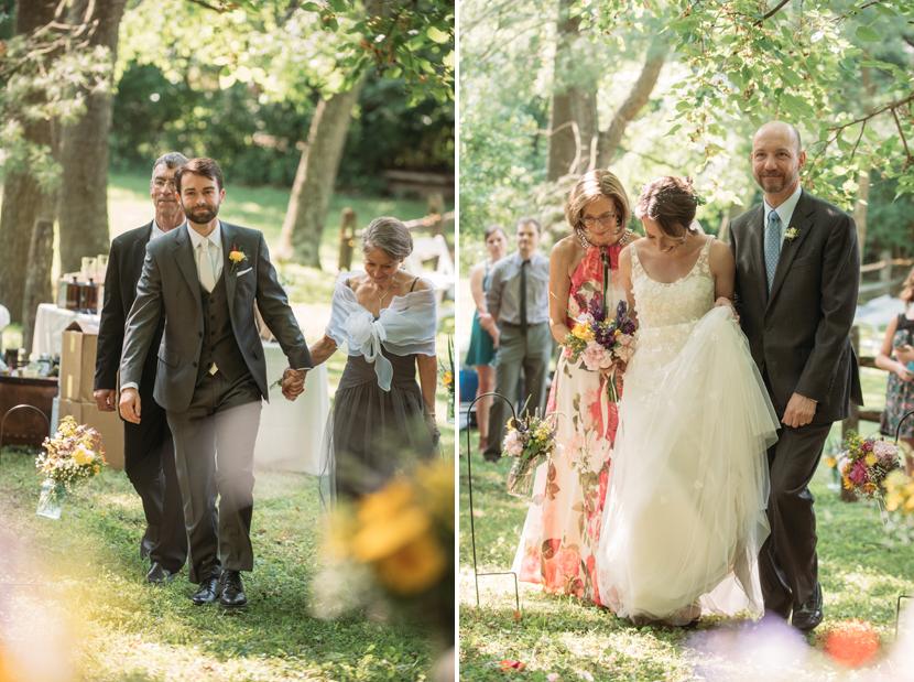 amazing backyard ceremonies