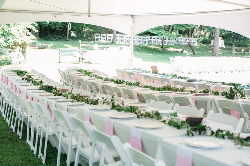 diy creative backyard wedding
