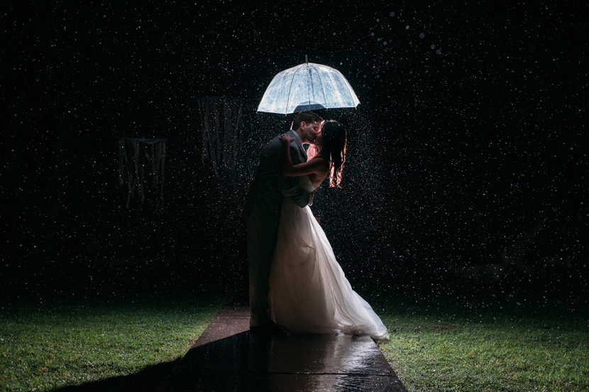 amazing rain wedding pictures