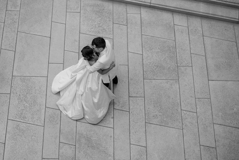 classic art museum wedding