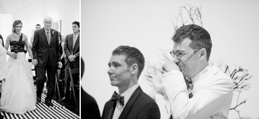 emotional grooms seeing bride for the first time