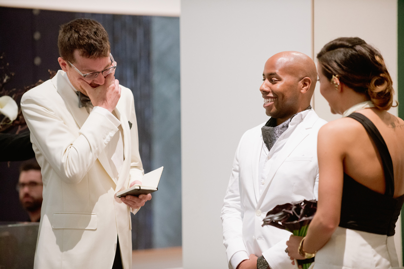 art museum wedding ceremony