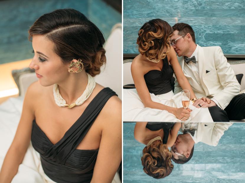 stylish bridal ear cuff