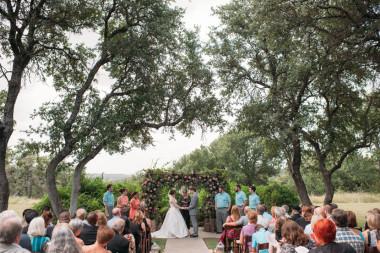 vista west outdoor ceremony