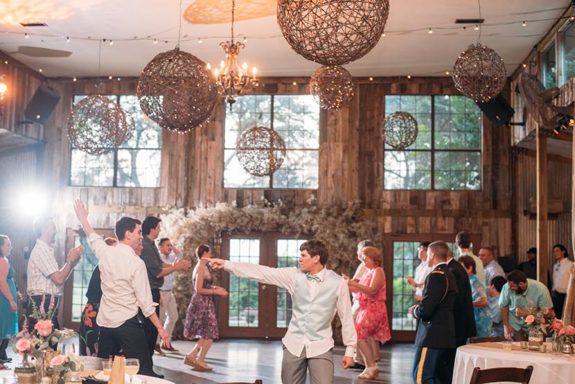 fun wedding receptions