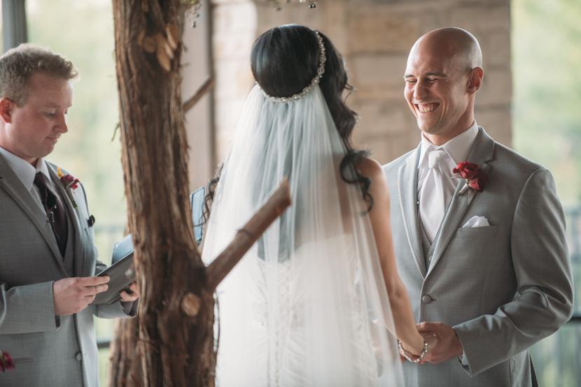 mixed faith wedding in austin